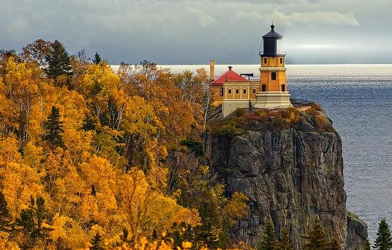 Split Rock Lighthouse on Lake Superior, Minnesota