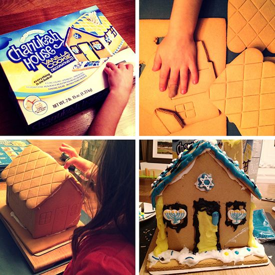 Love the new do-it-yourself Chanukah House- great activity for little kids