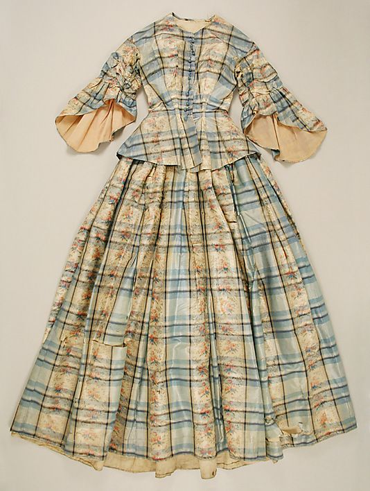 Dress 1850, American