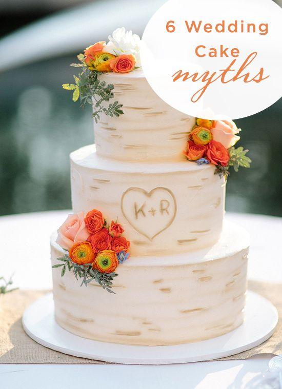 6 Wedding Cake Myths...Busted!!
