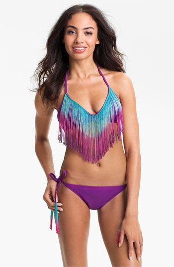 The Bikini Lab Fringed Bikini Top