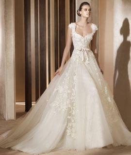 Wedding dress by my favorite dress designer.