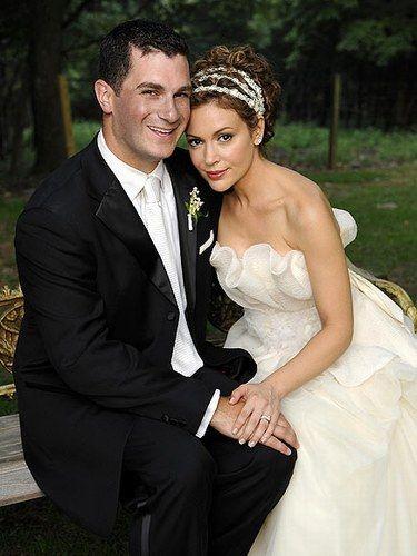 i like her hair - Celebrity wedding dresses