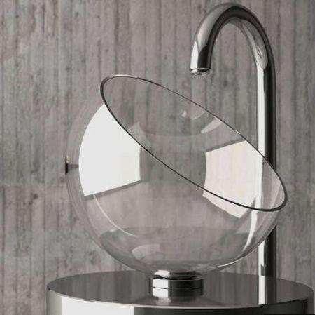 szklana umywalka