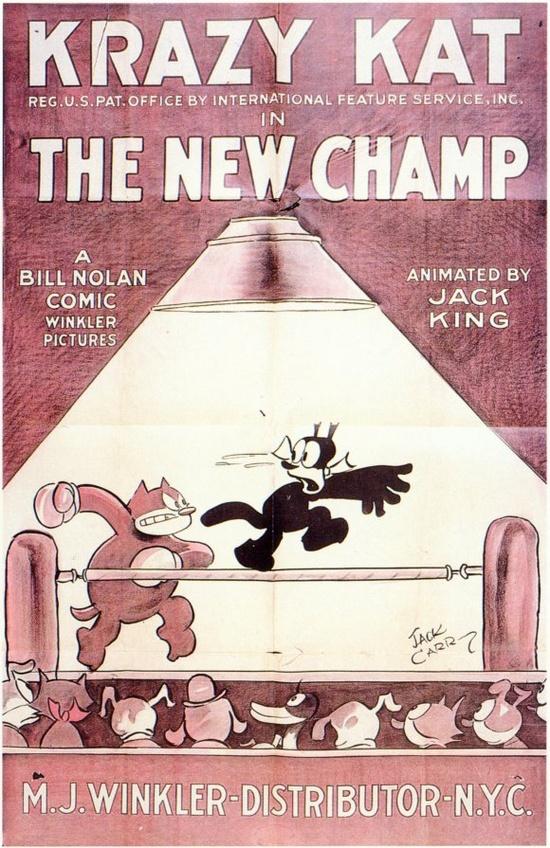 "Vintage Cartoon Character ""Krazy Kat"" - 1925"