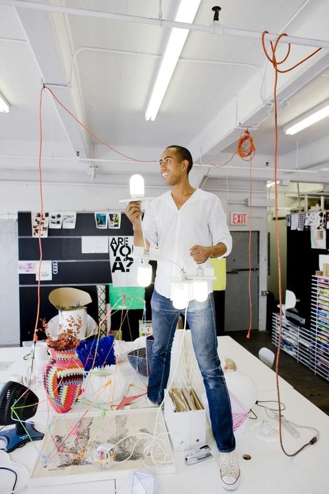Industrial designer Stephen Burks