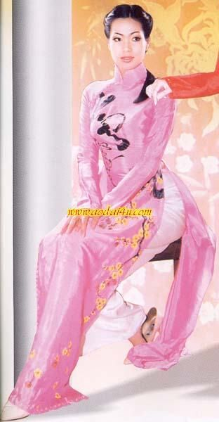 My Ao Dai Traditional Vietnamese Dress Ao Dai