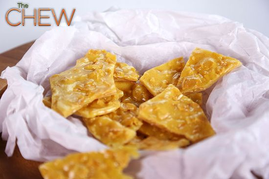 Cooking Light's Microwave Almond Brittle #TheChew