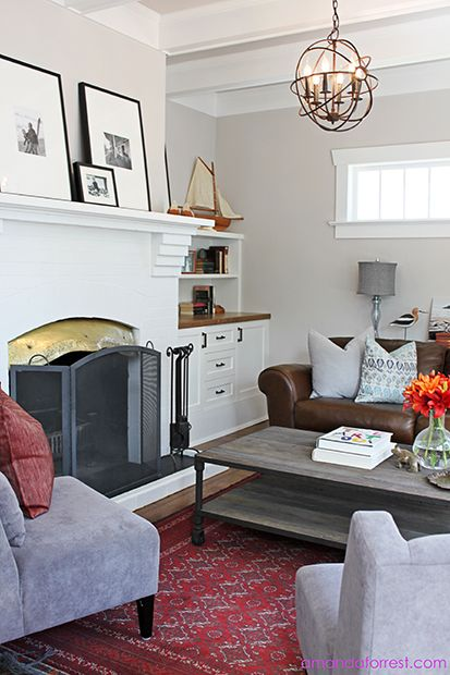 Heritage House Living Room Design