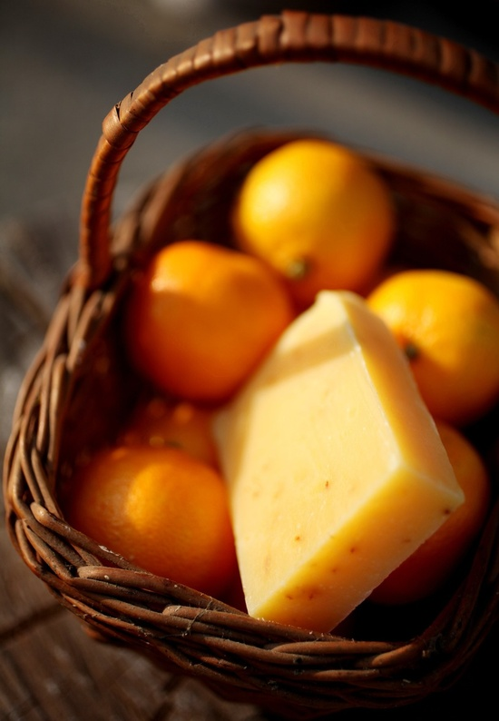 Tangerine Citrus Soap - natural soap made with honey and beeswax. +dreadstop @DreadStop