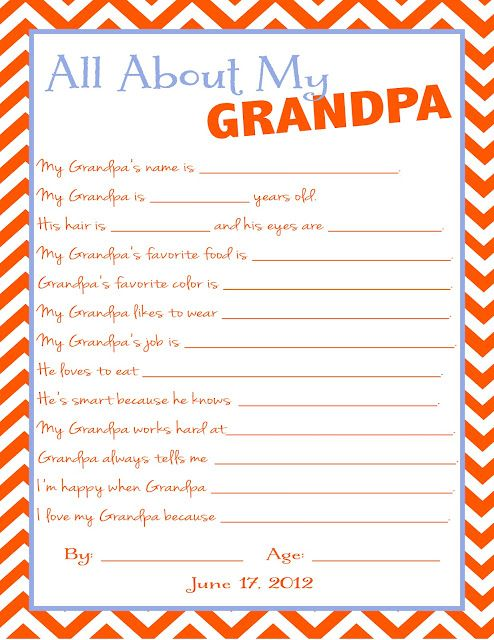 Great Father's Day gift for Grandpa