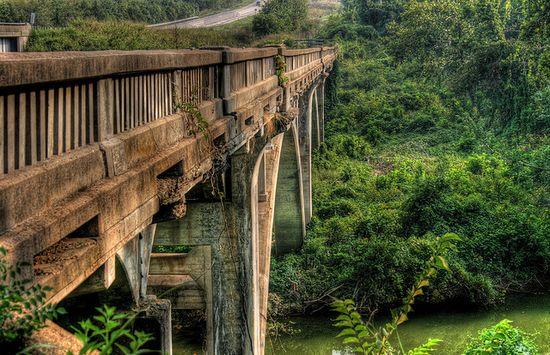 Old bridge in Missouri
