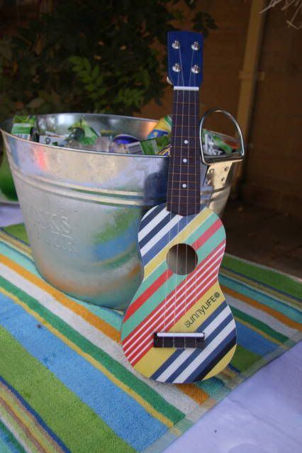 This site is full of great party ideas - LOVE this Retro Surf's Up Birthday Party Idea!