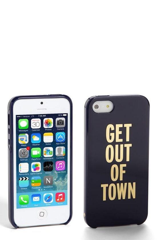 Get out of town, check out this cute iPhone case!