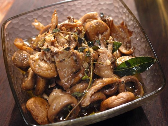 Whole Mushroom Salad Recipe : Laura Calder : Recipes : Cooking Channel