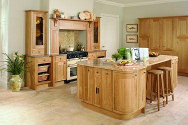 Oak Kitchen Design
