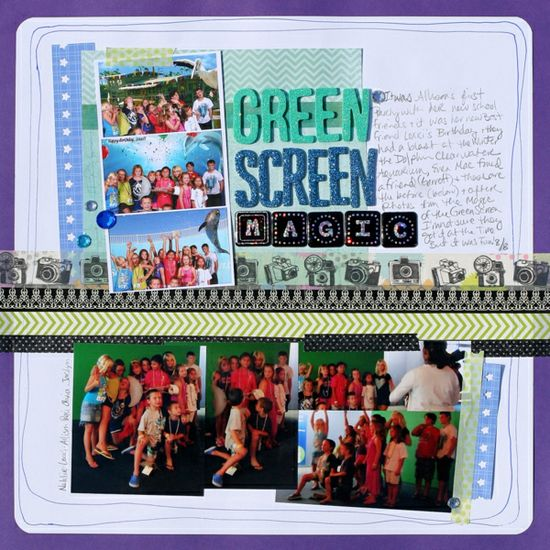 Scrapbooking Ideas for Using a Cool Color Palette