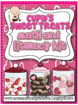 If you're looking for Valentine's Day fun..then you've come to the right kit. The pack comes with three math and three literacy activities. If you'...