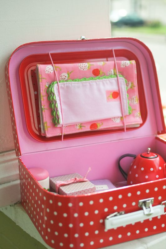 strawberry tea party :: probably actually