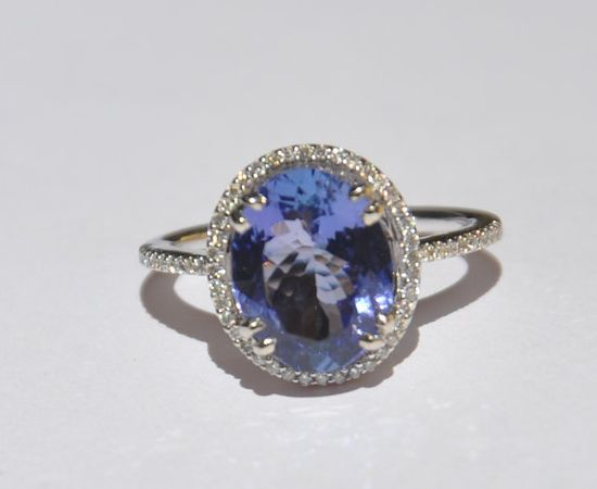 GIA Certified Natural Unheated 375 CT Tanzanite by bluefirejewelry, $2000.00