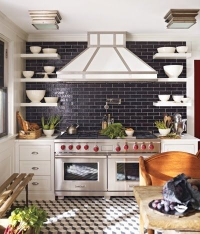 LOVE this stove area...and the stove :)