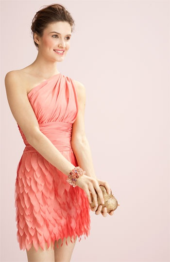 #coralweddings: I'm in love with this dress. Perfect bridesmaid dress.