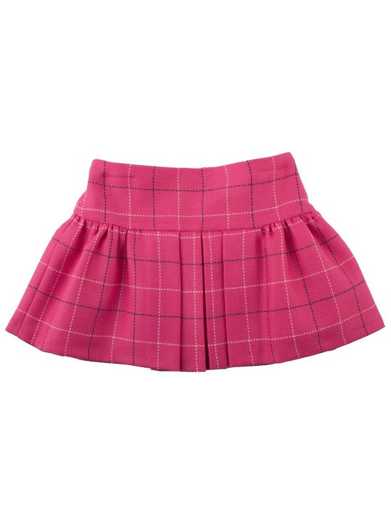 Spunky checked girls skirt from Simonetta Mini