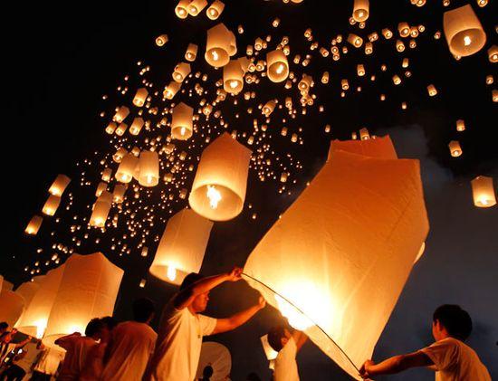 Sky lanterns!!