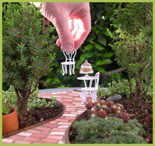 How to Create a Living Miniature or Fairy Garden That Will Last for Years. PDF Download for Inground or in a Container by Janit Calvo