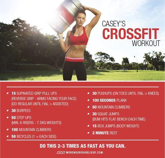 Crossfit Workout xx www.movenourishbe...