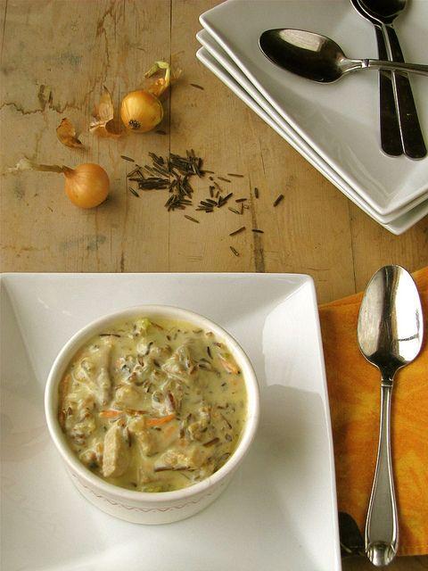 Creamy Ham & Wild Rice Soup
