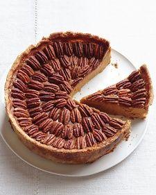 Mile-High Pumpkin-Pecan Pie - Martha Stewart Recipes #ModernThanksgiving