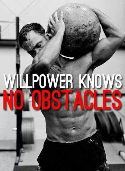 No obstacles!  #quotes #workout #exercises #fitness #crossfit