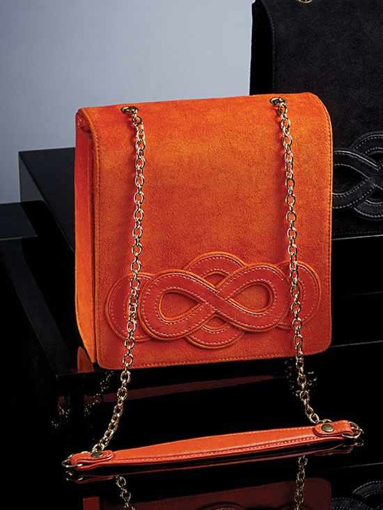Orange Infinity Handbag ? {Color of the Season}