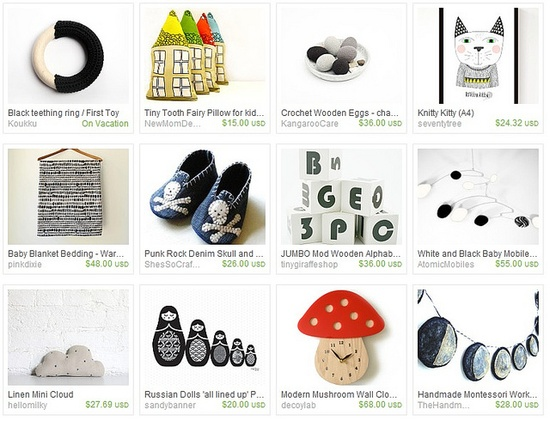 Modern baby products /// The A Stories