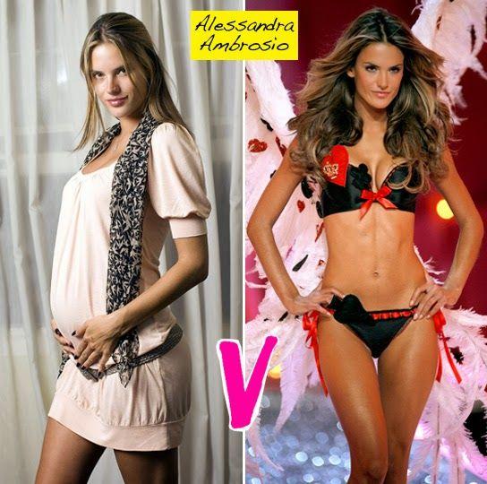 Victoria's Secret Model Pregnancy Diet & Fintess