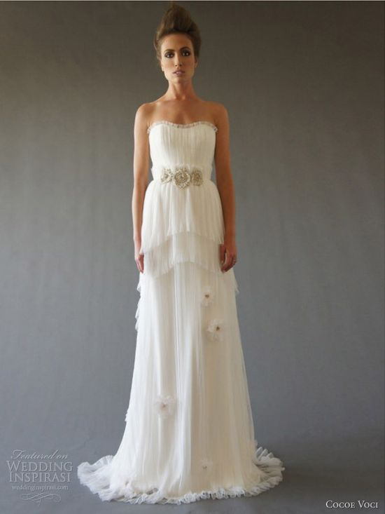 cocoe voci fall 2012 anemone wedding dress