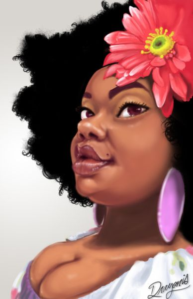 Natural Hair Art. #fro #afro