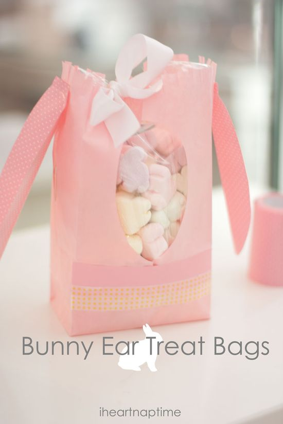 Easy Easter Craft- Bunny Treat Bags