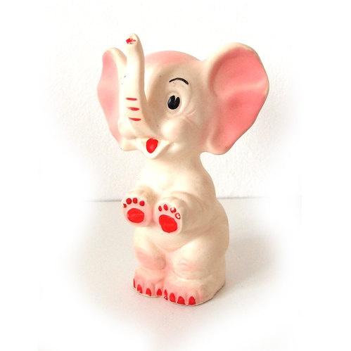 1950's vintage elephant squeaky toy!!!