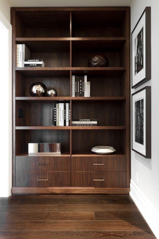 #interior design #home decor #shelving #display #inspiration - Croma Design Inc. Burston