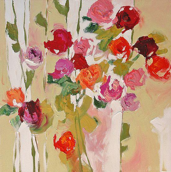 Linda Monfort Abstract Original