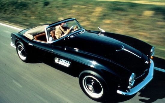 BMW 507 Roadster.