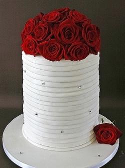 Rose Wedding Cake...