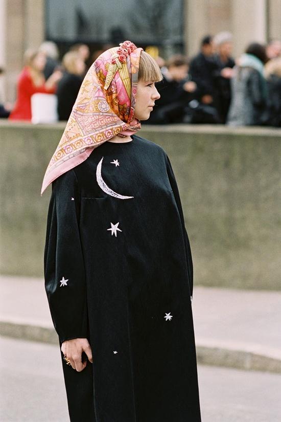 Vanessa Jackman: Paris Fashion Week AW 2013....Vika