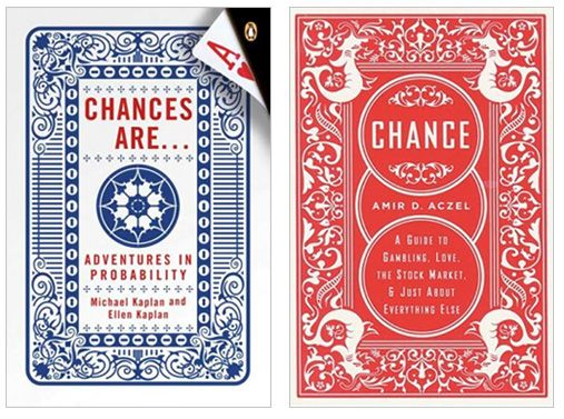 Cover design for Chances Are by Jamie Keenan  Cover design for Chance by Mark Melnick