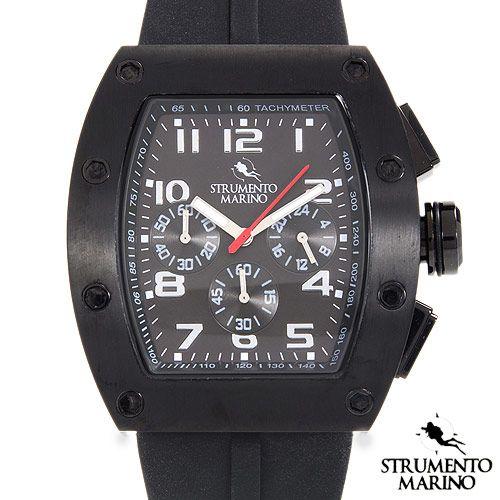 STRUMENTO MARINO SM056RBK/BK Chronograph Men's Watch