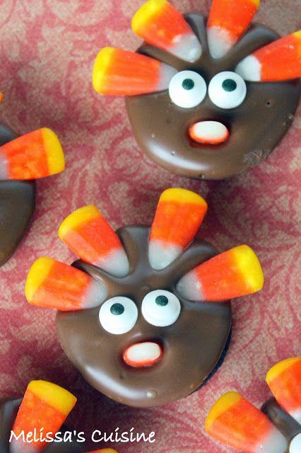 Melissa's Cuisine: Cookie Turkeys