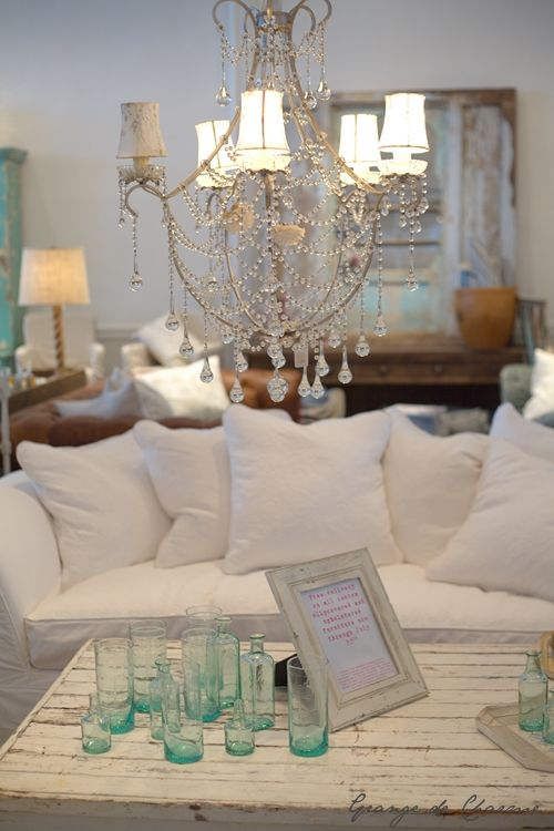 Shabby Chic New York via Grange du Charme
