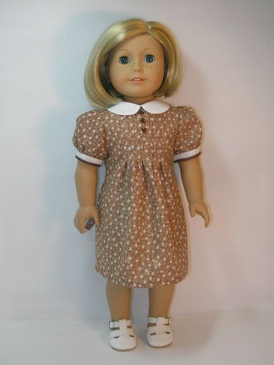 1934-1025 American Girl Doll Dress Kit Ruthie. $30.00, via Etsy.